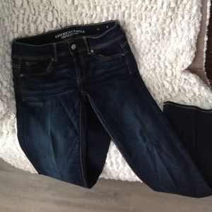 American Eagle Outfitters Kick Boot Jeans- size 6s
